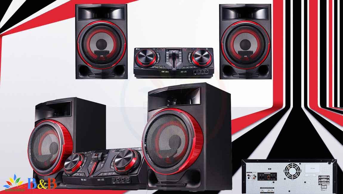 طراحی زیبای سیستم صوتی ال جی cj87