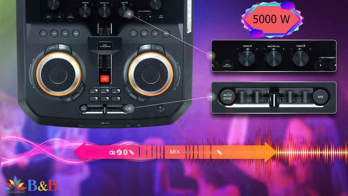 صدای ایکس بوم CK99