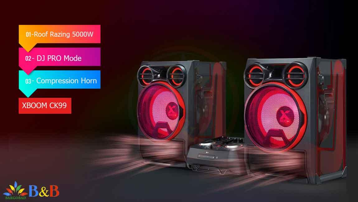 معرفی سیستم صوتی ال جی CK99