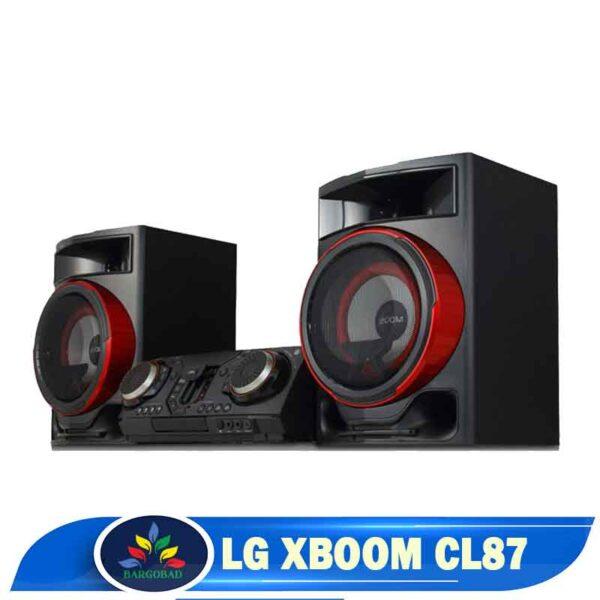 نمای دیگر سیستم صوتی ال جی XBOOM CL87