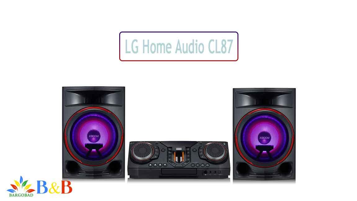 معرفی سیستم صوتی CL87