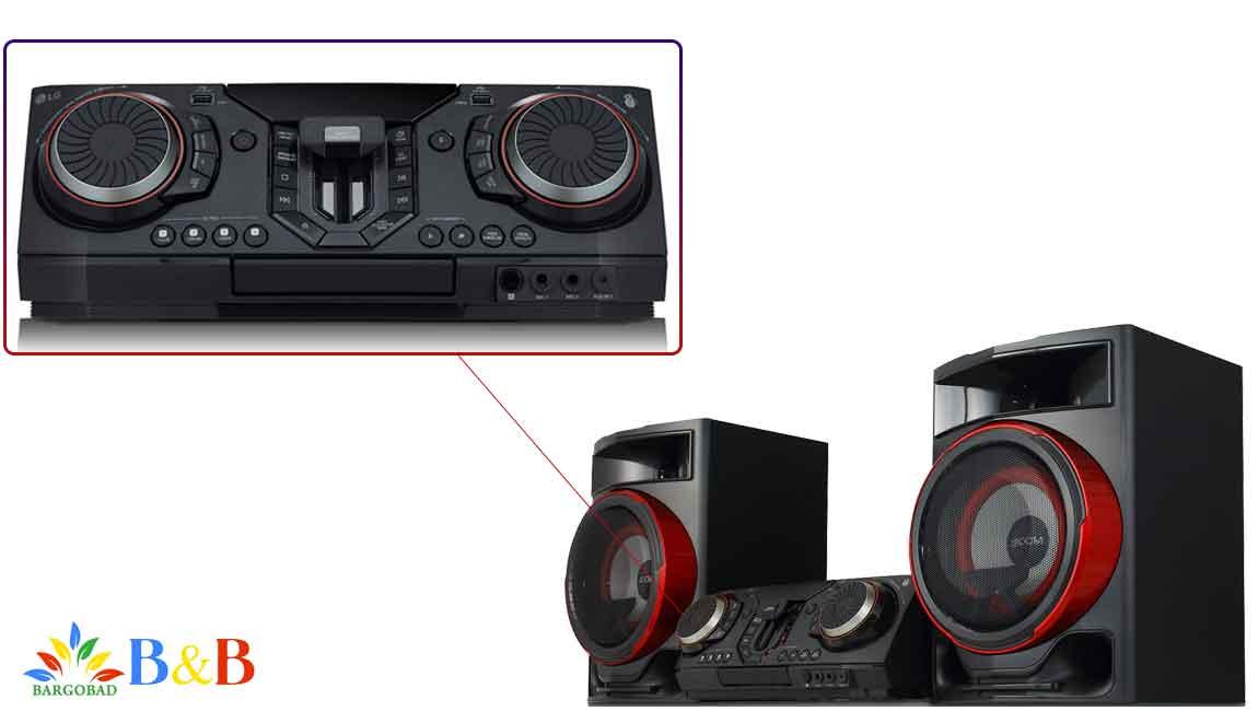 معرفی سیستم صوتی ال جی CL87