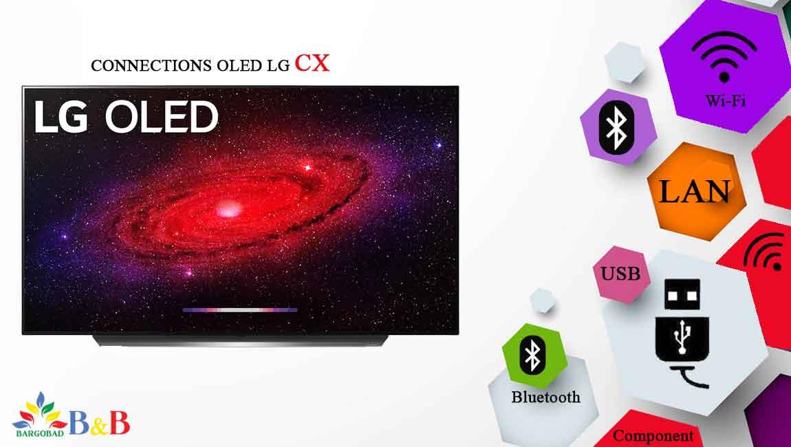 اتصالات تلویزیون 65 اینچ اولد ال جی CX