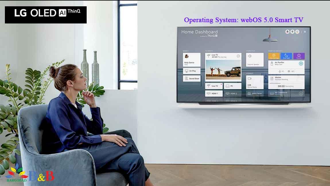 سیستم عامل WebOS تلویزیون CX ال جی