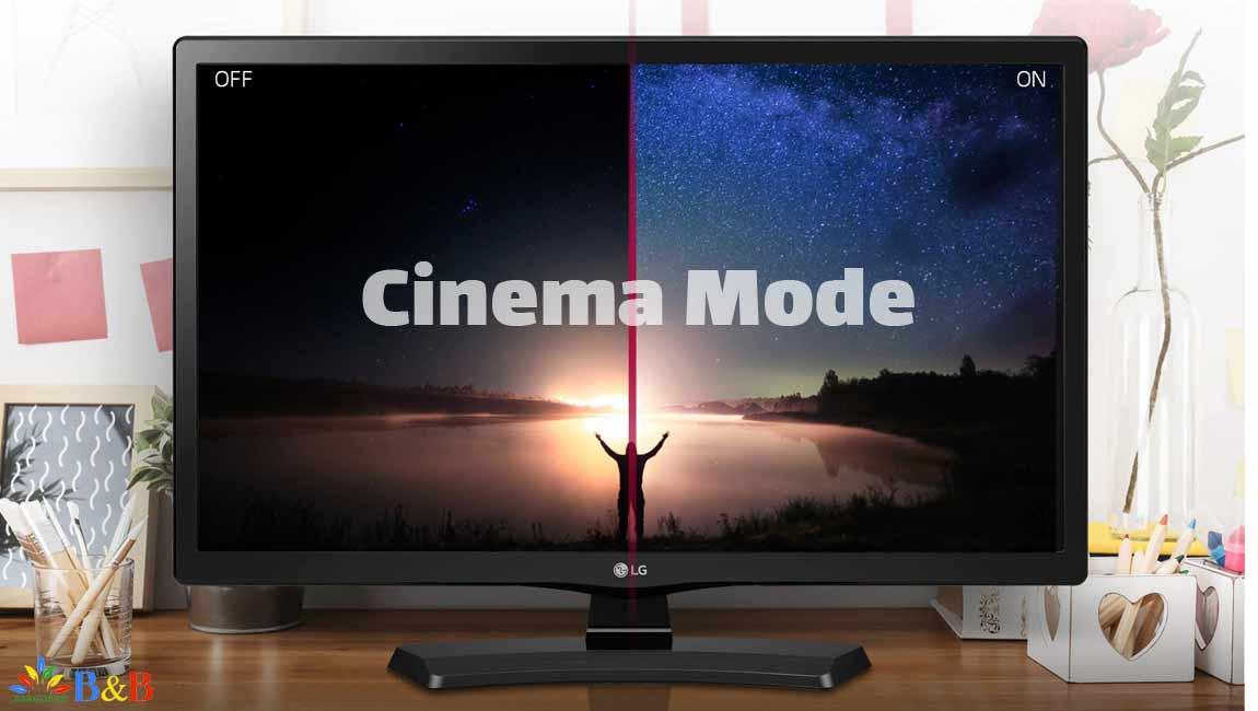 Cinema Mode با تلویزیون mtvf