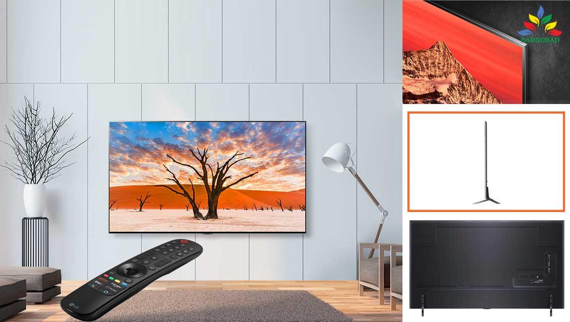 طراحی تلویزیون ال جی QNED90