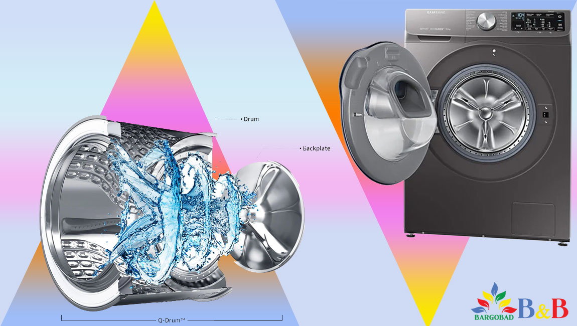 طراحی و درام لباسشویی WW90M645