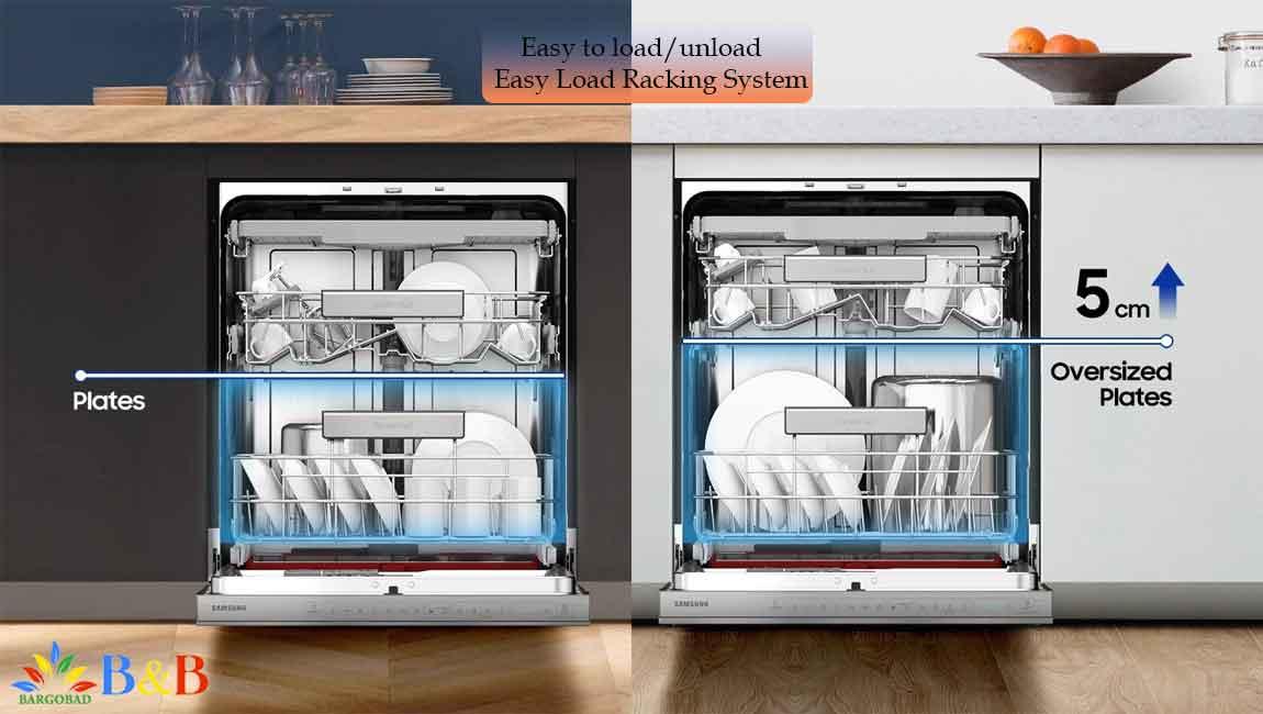 طراحی داخلی ماشین ظرفشویی سامسونگ 9530