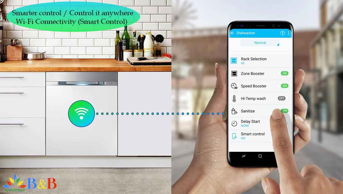 Smart Control در ظرفشویی سامسونگ 9530