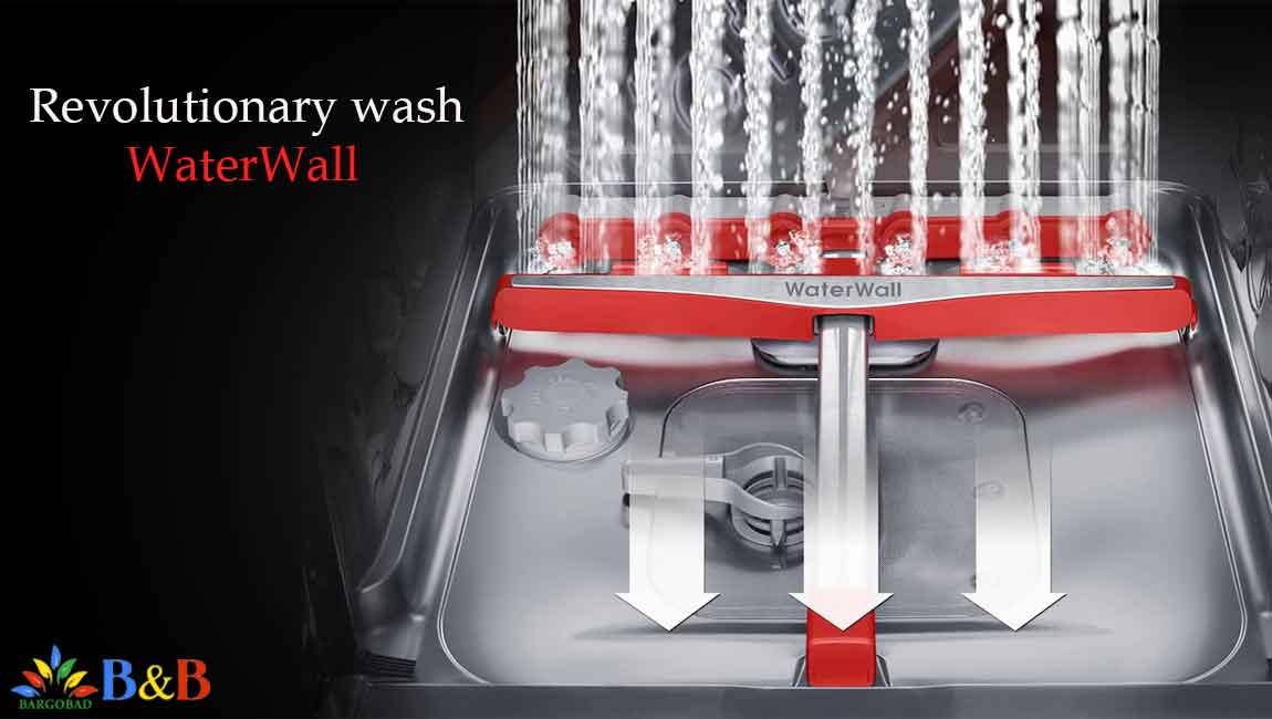 WaterWall در ظرفشویی سامسونگ 9530