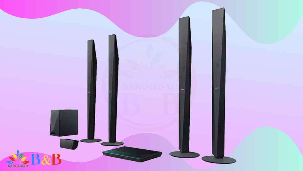 طراحی سیستم صوتی خانگی سونی E6100