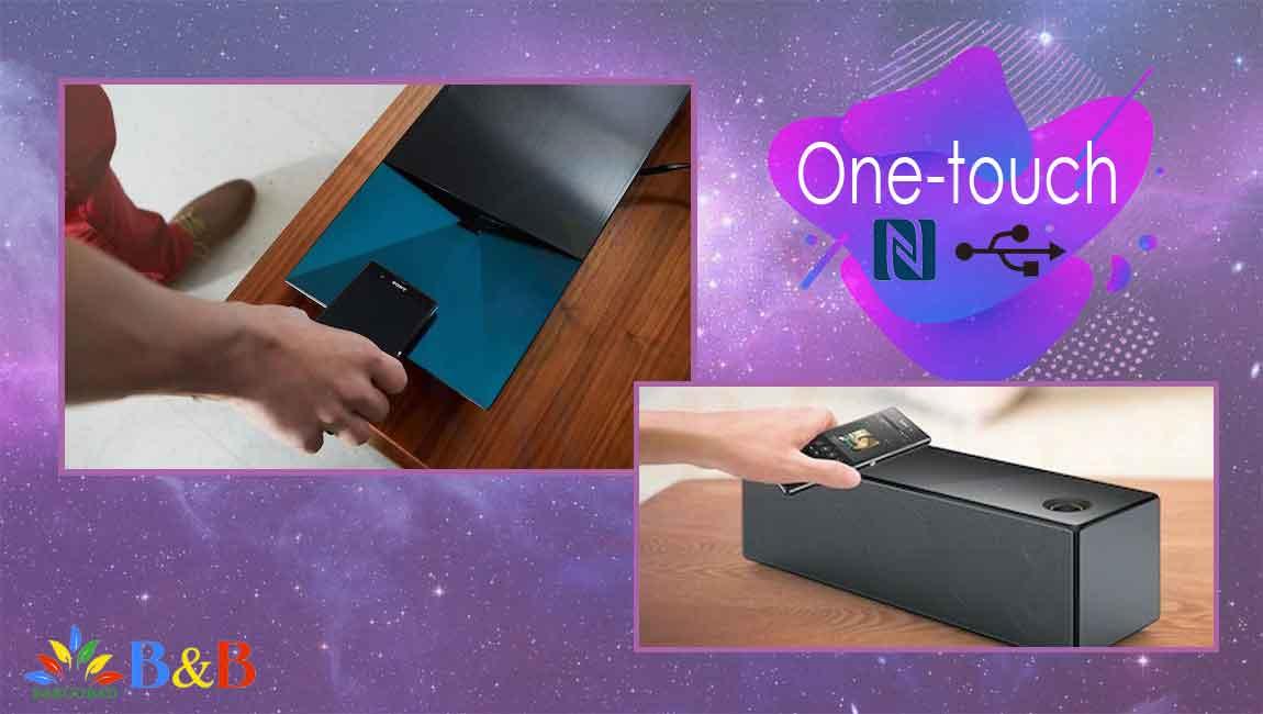 فناوری NFC در سینما خانگی E6100