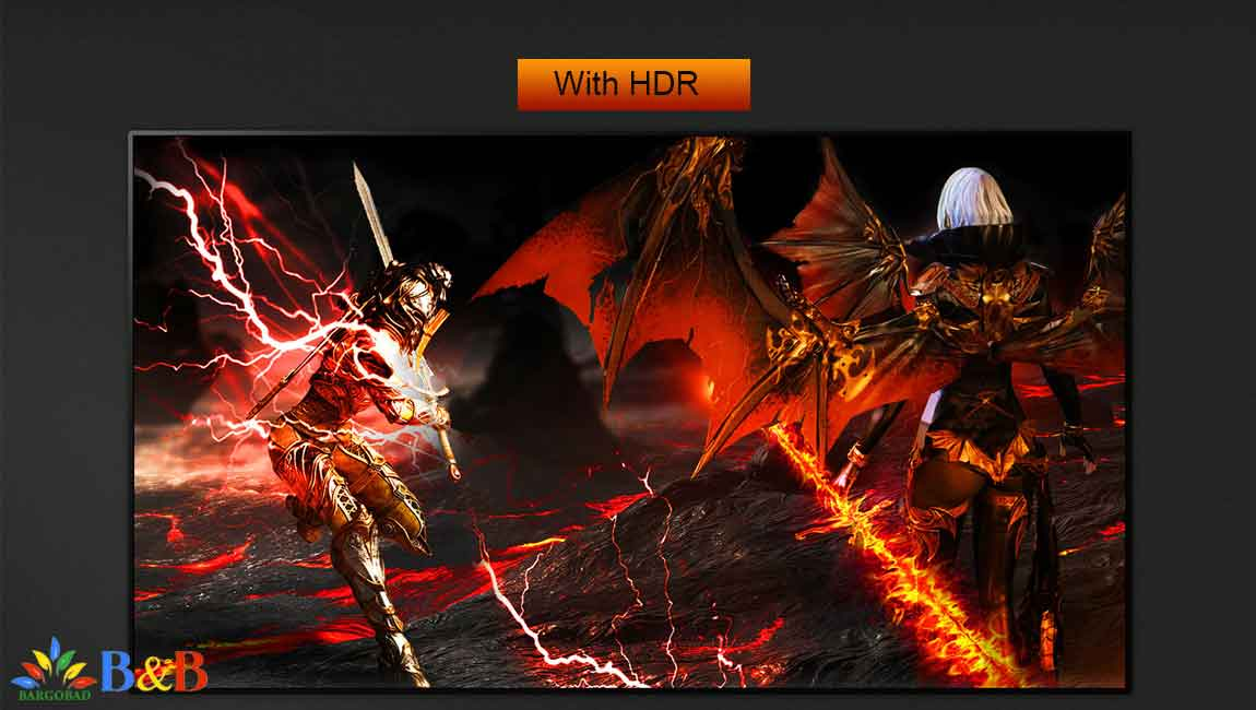 قابلیت HDR در تلویزیون ال جی E9