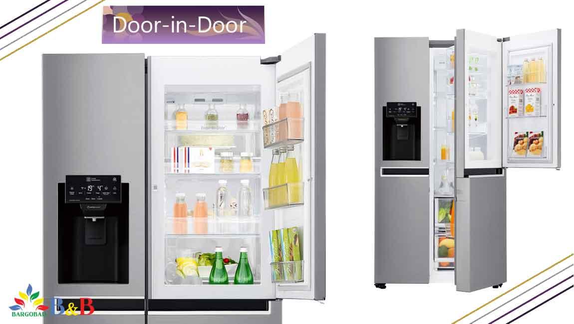 طراحی Door-In-Door با یخچال j247
