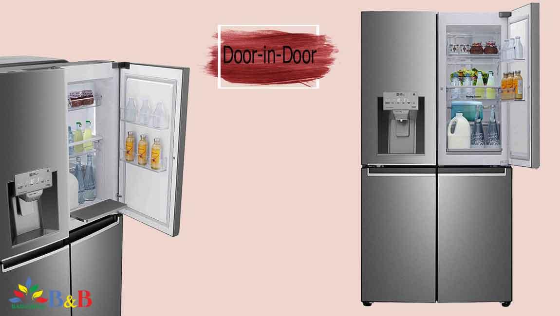طراحی DOOR IN DOOR یخچال J34