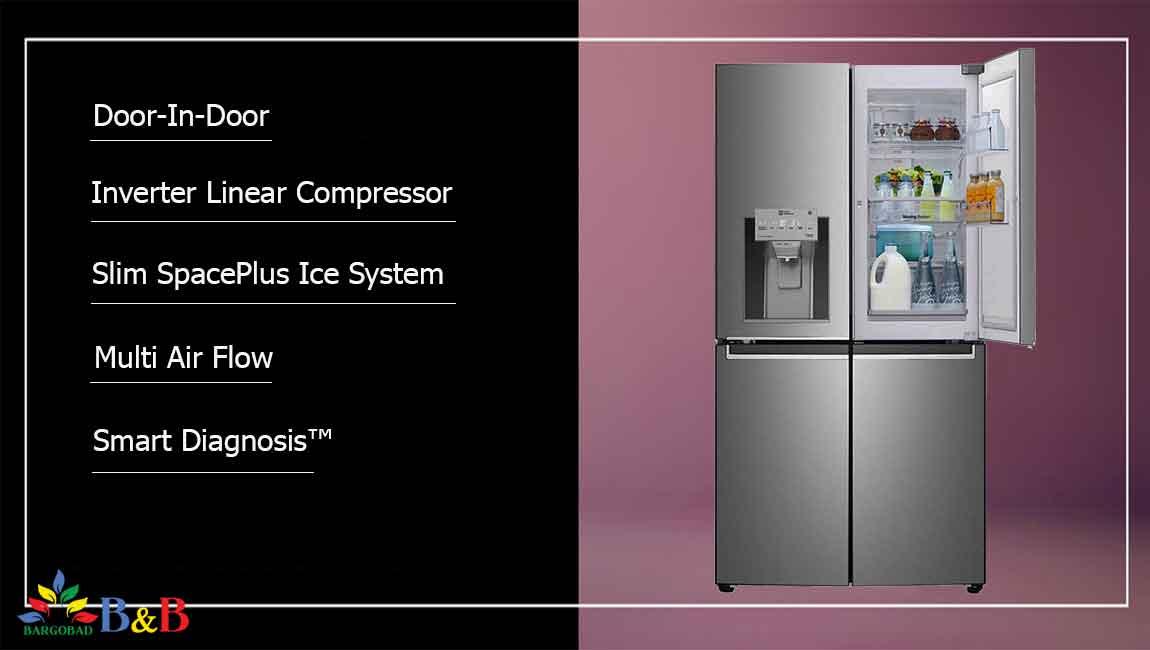 مزایای خرید یخچال ال جی J34