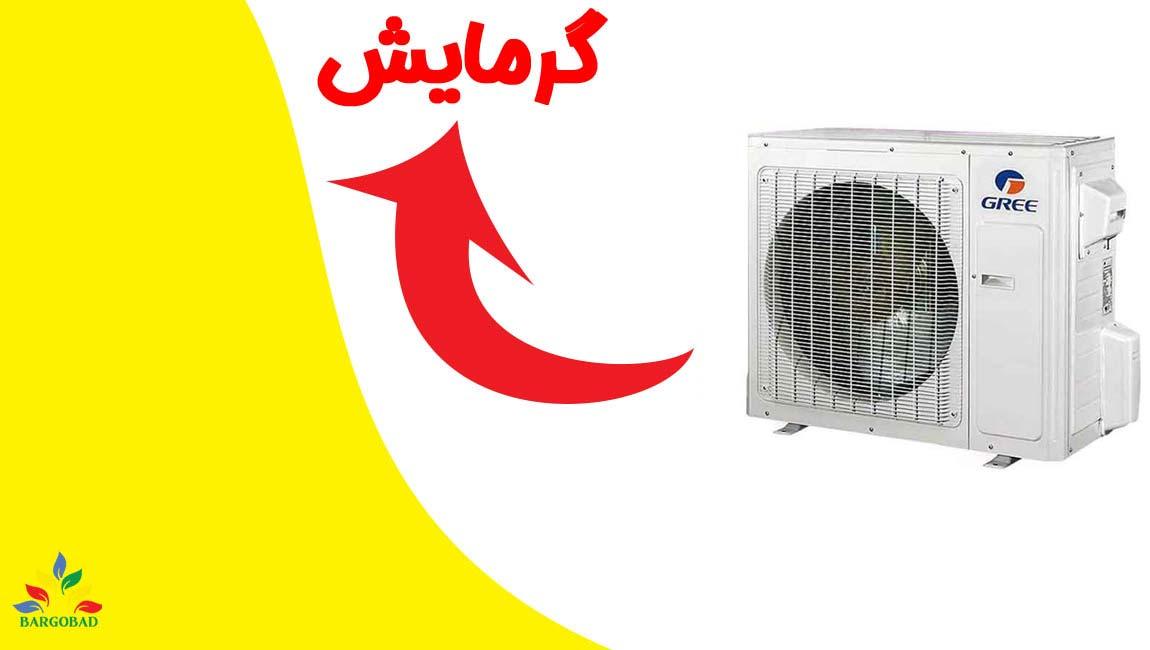 سیستم گرمایش داکت اسپلیت گری