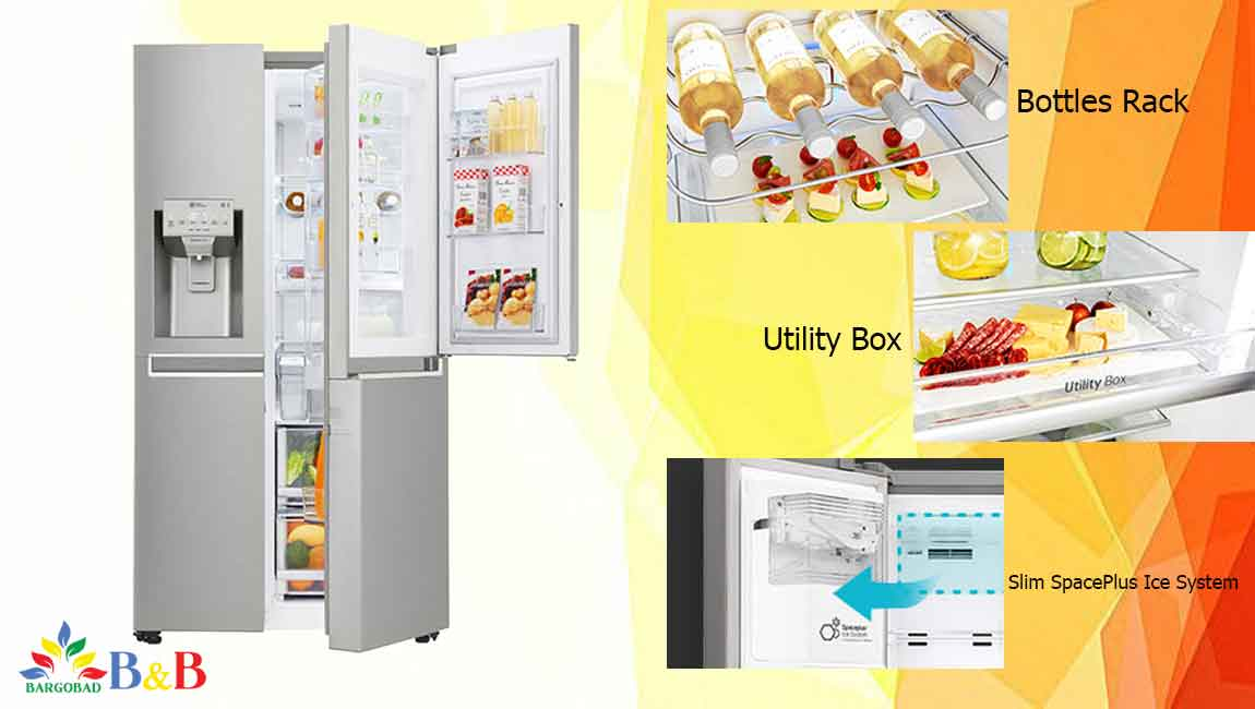 طراحی یخچال J337