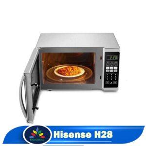 فضای داخلی مایکروویو هایسنس H28