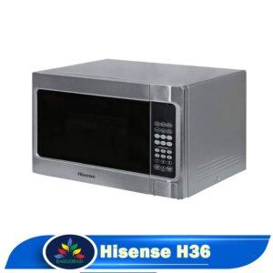 نمای کناری مایکروویو هایسنس H36