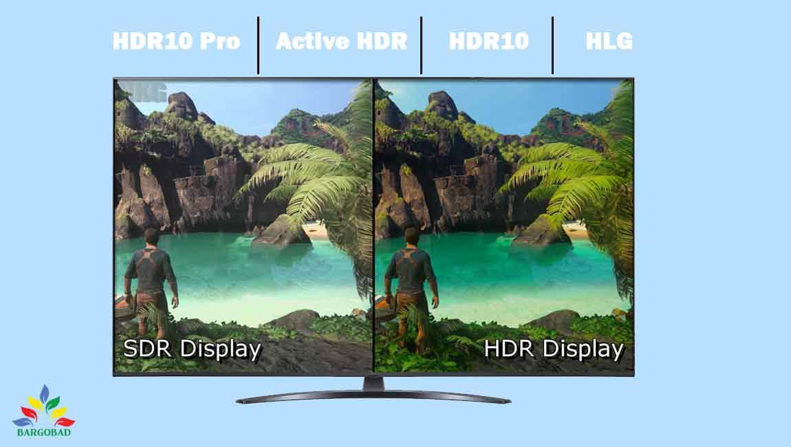 قابلیت HDR در تلویزیون ال جی UP7800