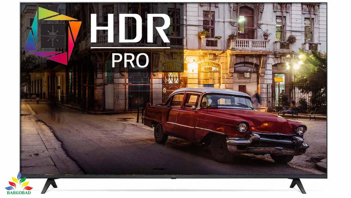 قابلیت HDR در تلویزیون ال جی UP7700
