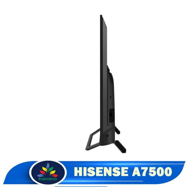 ضخامت تلویزیون هایسنس A7500