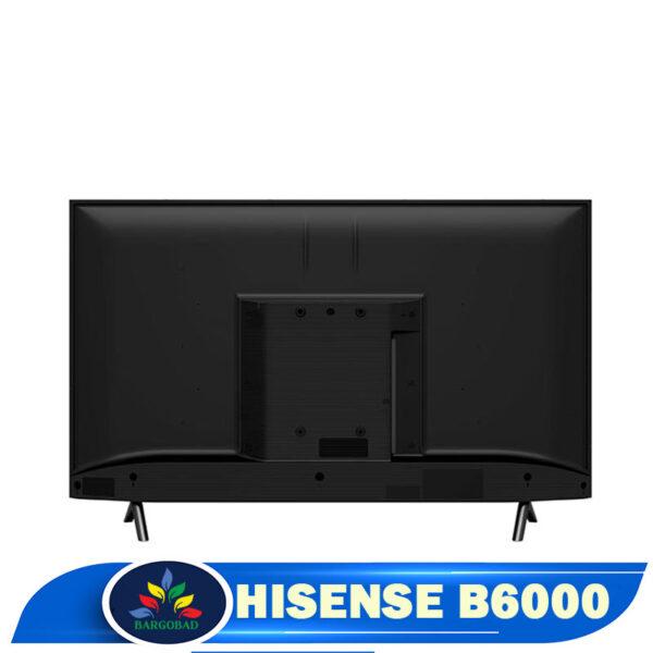 نمای پشت تلویزیون هایسنس B6000