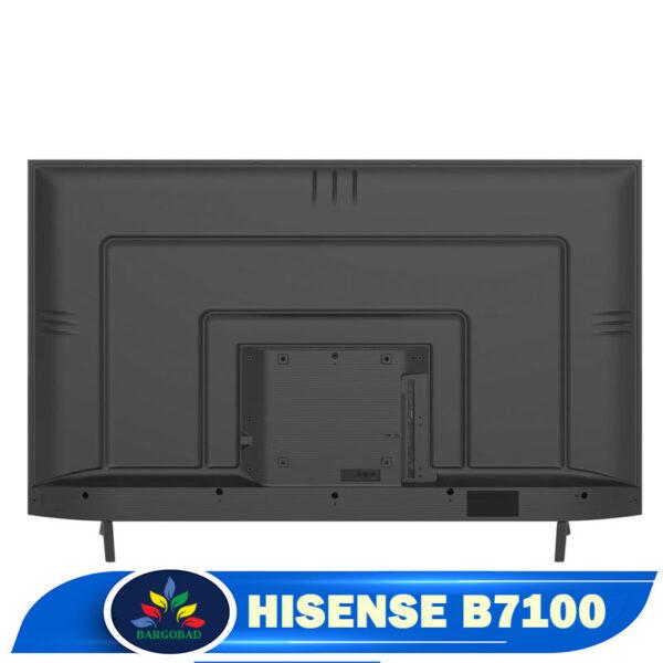 نمای پشت تلویزیون هایسنس B7100