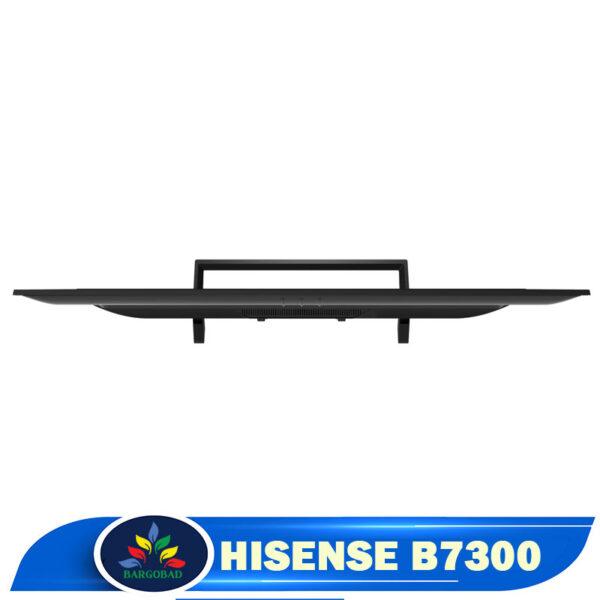 نمای بالا تلویزیون هایسنس B7300