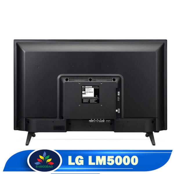 نمای پشت تلویزیون ال جی lm5000
