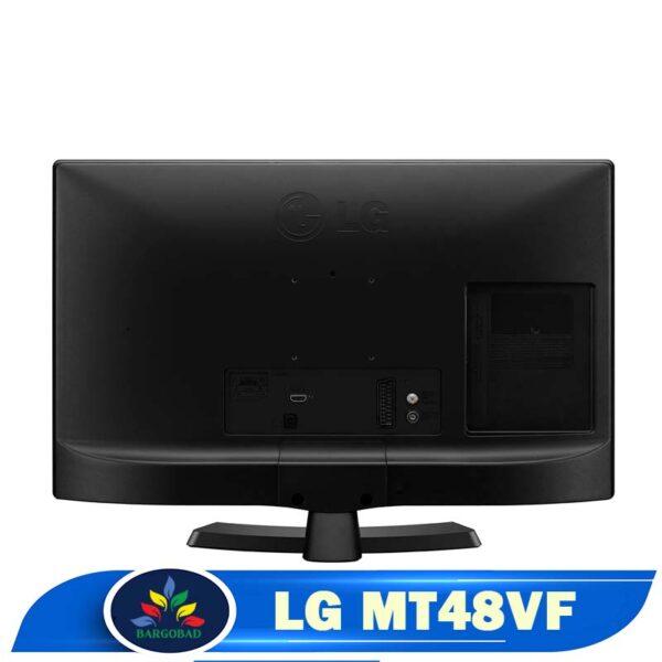 نمای پشت تلویزیون 28 اینچ ال جی MT48VF