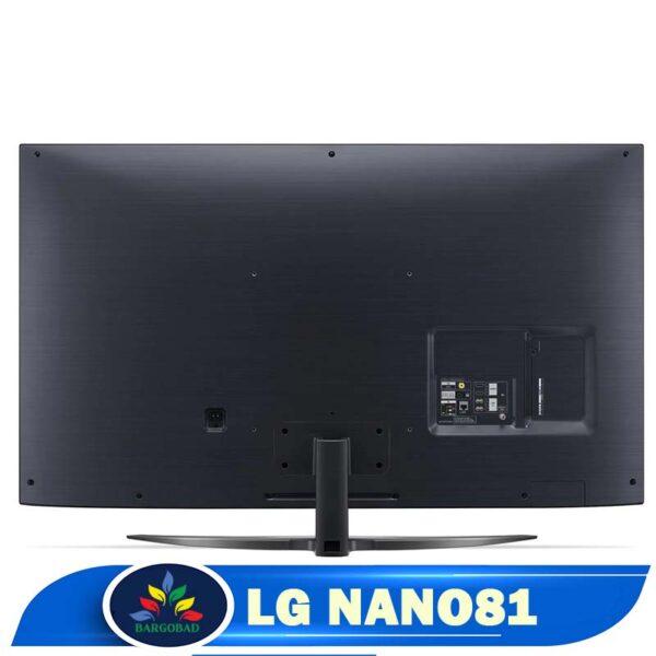 نمای پشت تلویزیون ال جی NANO81 مدل 2020