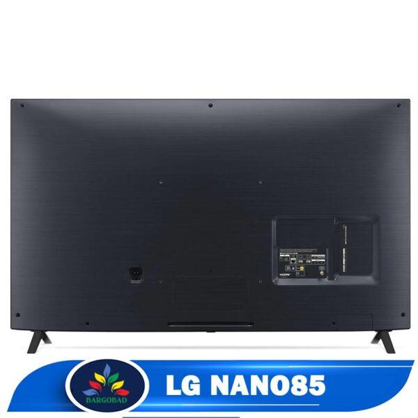 نمای پشت تلویزیون ال جی نانوسل nano85