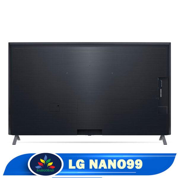 نمای پشت تلویزیون نانوسل ال جی مدل 2020 NANO99