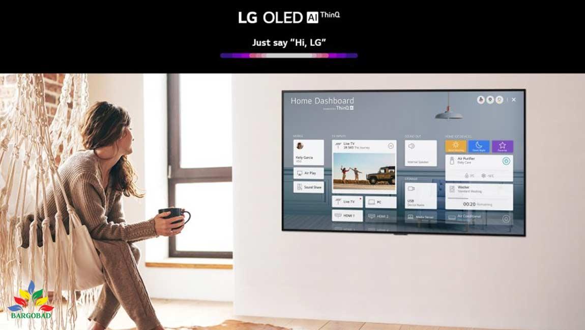 تلویزیون هوشمند ال جی GX مدل 2020