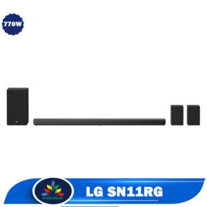 سیستم صوتی ساندبار ال جی SN11RG توان 770 وات مدل 2020
