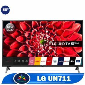 تلویزیون 55 اینچ ال جی UN711 مدل 2020