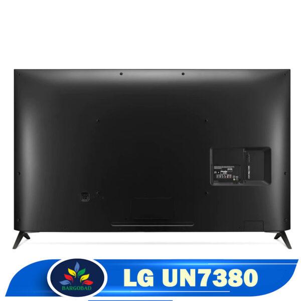 نمای پشت تلویزیون ال جی UN7380