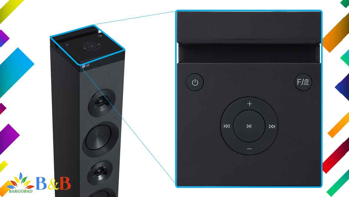 طراحی سیستم صوتی ال جی RL3