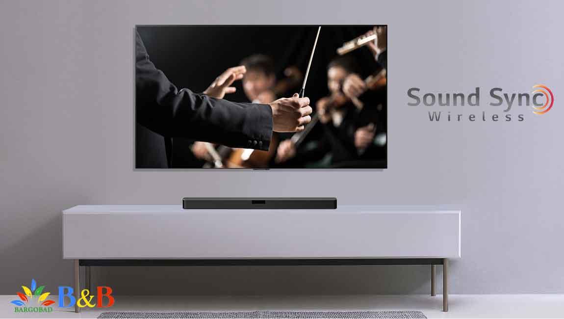 اتصال سیستم صوتی ال جی LHD667 به تلویزیون