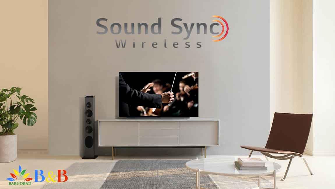 TV Sound Sync در ایکس بوم ال جی RL3