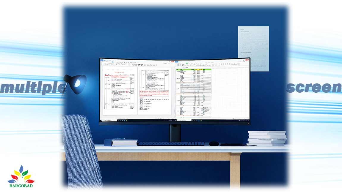 قابلیت multi-screen در مانیتور گیمینگ شیائومی