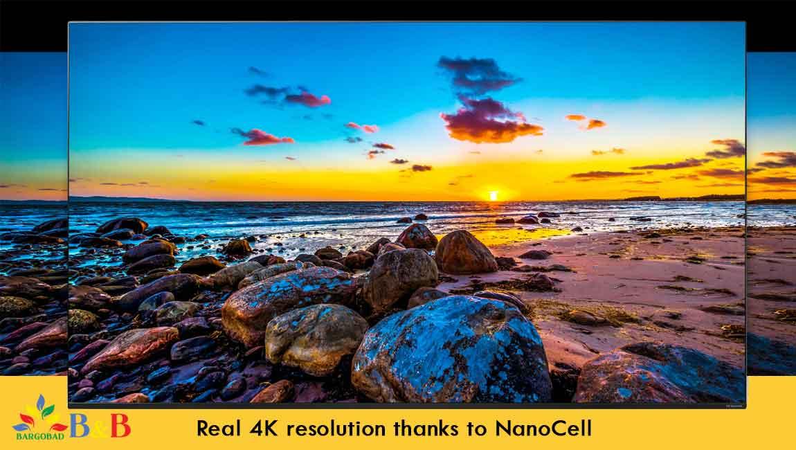 کیفیت تصویر تلویزیون 50 اینچ ال جی NANO79