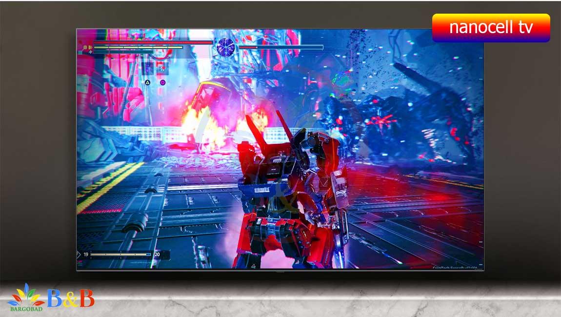 رنگ های غنی در تلویزیون 49 اینچ ال جی NANO80