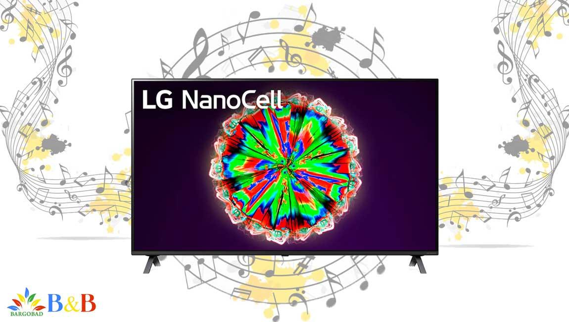 سیستم صوتی تلویزیون 49 اینچ ال جی NANO80