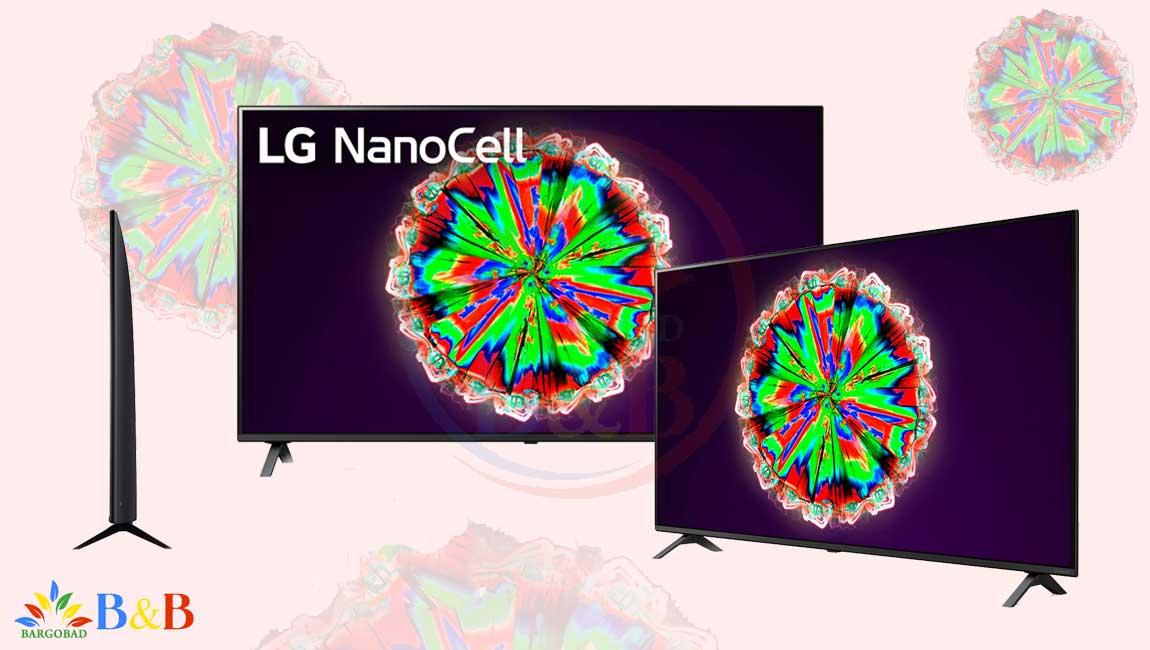 طراحی تلویزیون 49 اینچ ال جی NANO80