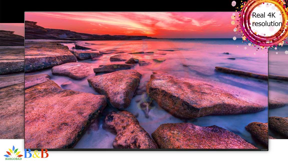 کیفیت تصویر تلویزیون 49 اینچ ال جی NANO80