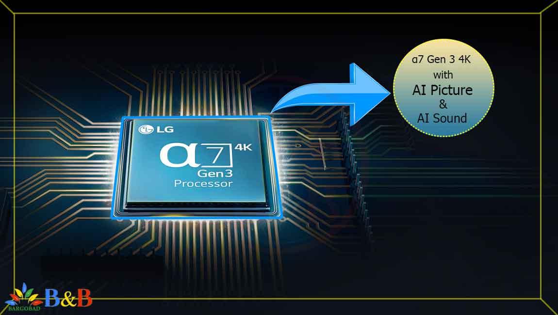پردازنده تلویزیون 55 اینچ ال جی NANO85