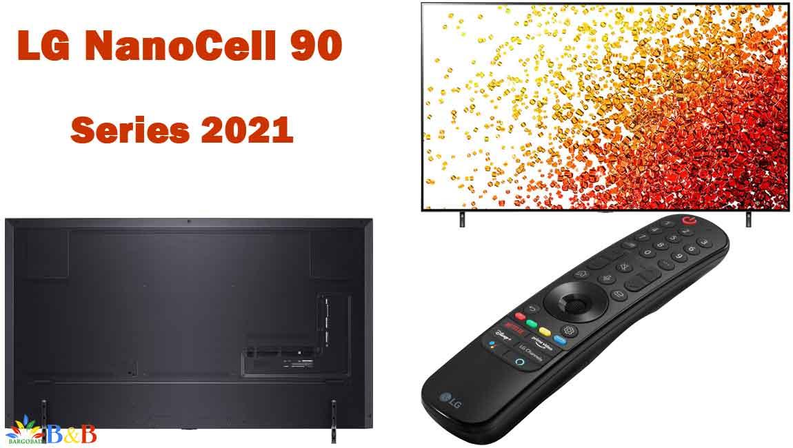 طراحی تلویزیون ال جی NANO90